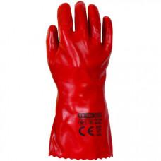 Робочі рукавиці Квітка з ПВХ бензомаслостійкі р.10 2 шт. (110-1205)