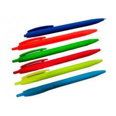 Ручка масляна автомат. Hiper Soft Touch Синя 0.7 мм (HA-170)