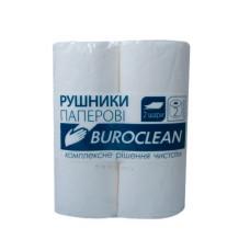 Рушники паперові BuroClean двошарові 2 рулони (10100400)