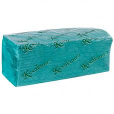 Рушники паперові Кохавинка Z-складання 200 листів Зелені (181161)