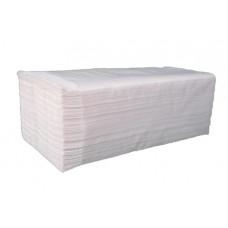 Рушники паперові Papero одношарові Z-складання 170 листів Білі (RV020)
