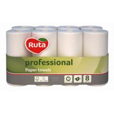 Рушники паперові Ruta Professional двошарові 8 рулонів (93639)