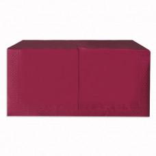 Серветки Alsupak двошарові 33х33 см 250 шт. Бордові (390370)