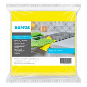 Серветки Romus віскозні 10 шт Жовті (18432550)