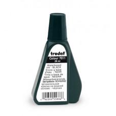 Штемпельна фарба на водній основі Trodat 28 мл Чорна (7011 чорна)