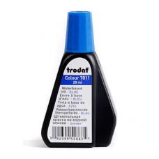 Штемпельна фарба на водній основі Trodat 28 мм Синя (7011 синя)