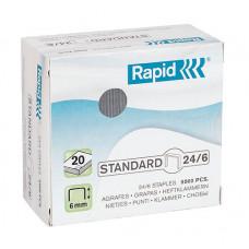 Скоби Rapid Standard №24/6 5000 шт. (24859800)
