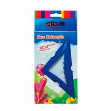 Трикутник пластиковий 1 Вересня 10х10 см Кольоровий (370341)