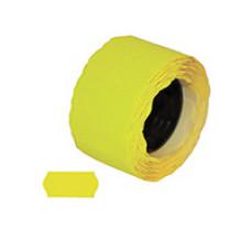 Цінники 26х12 мм N1 фігурні Жовті 1000 шт (11201)