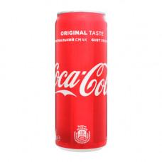 Вода  Coca-cola 0.33 л сильногазована (000996)