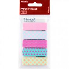 Закладки Axent паперові 5x12x50 мм 100 шт Dots (2490-01-A)