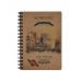 Записна книга Buromax Kraft A6 80 аркушів у клітинку (BM.2483)
